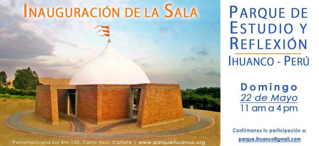 Invitación Inauguración de la Sala - IHUANCO, Perú